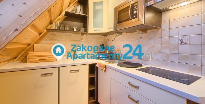 apartament zakopane na sprzedaż kuchnia