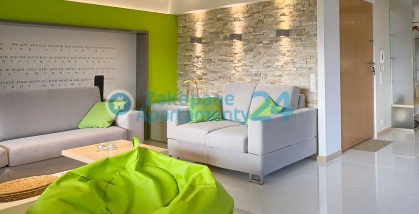 apartament w zakopanem aquapark 4 salon wypoczynkowy