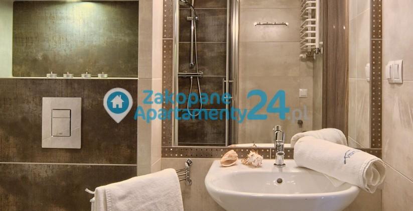 łazienka w apartamencie aquapark 1