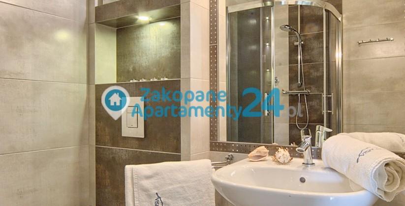 aquapark 1 apartament w centrum Zakopanego - łazienka