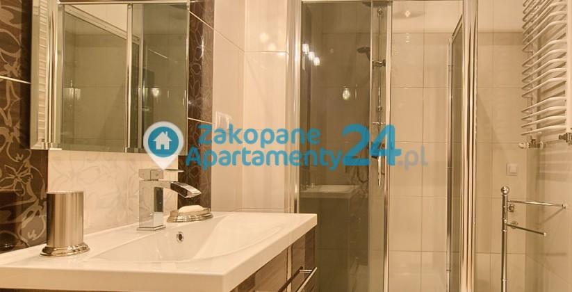 zakopane apartament aquapark łazienka