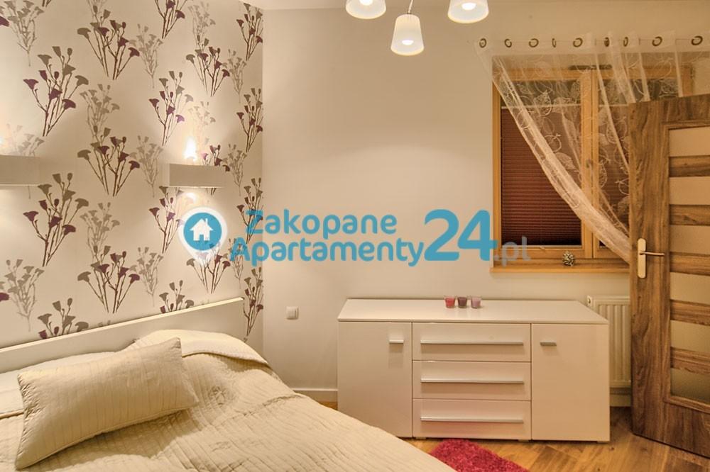 apartament aquapark 2 zakopane sypialnia