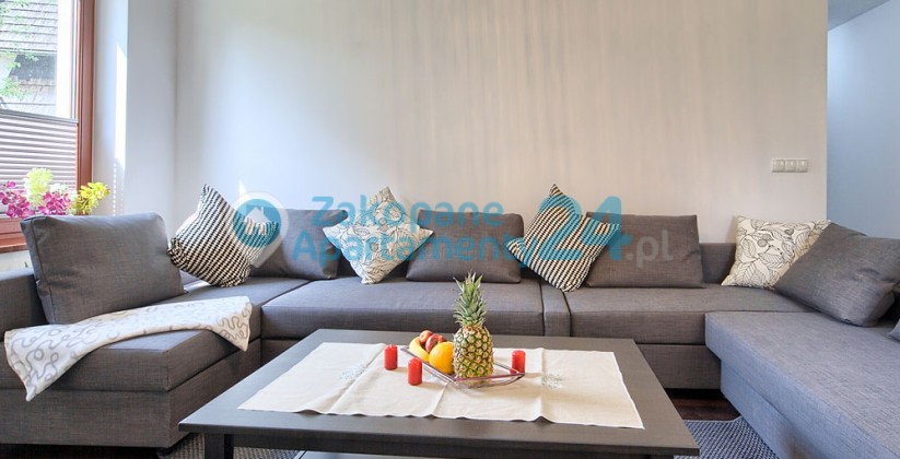 apartament w zakopanem salon