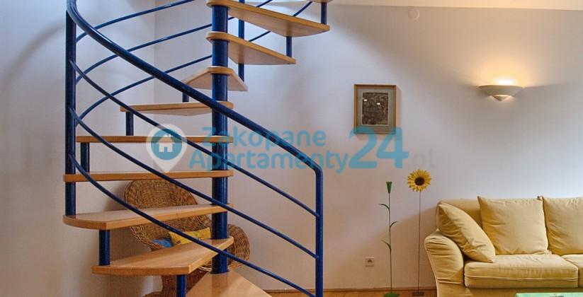apartament do wynajęcia centrum 6 schody na antresolę