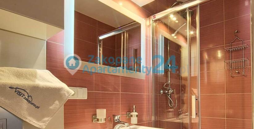 łazienka w apartamencie Krupówki 2