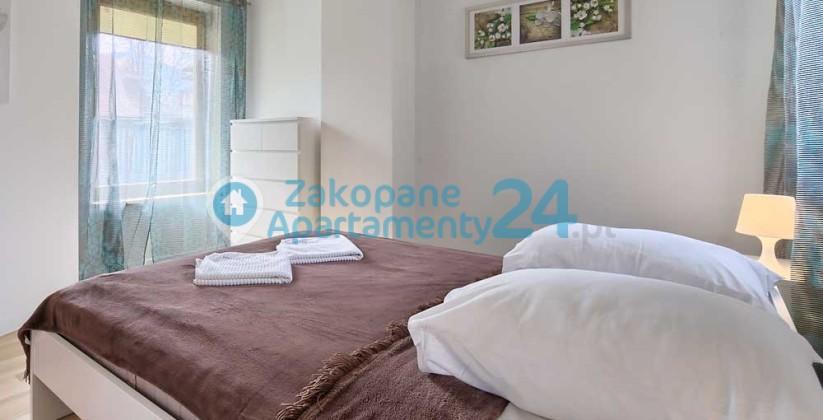 Krupówki 2 przestronna sypialnia dla dwojga