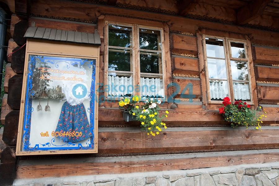 stara chata w Zakopanem