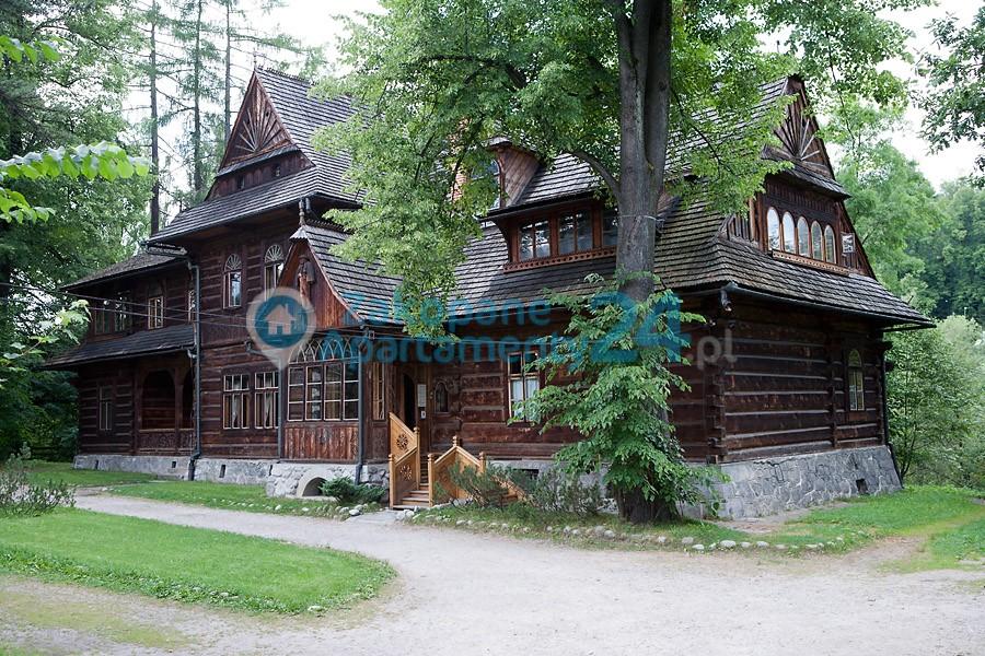 tradycyjne budownictwo w Zakopanem