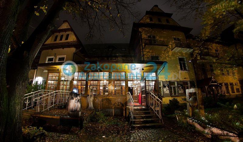 Kawiarnia w Teatrze Witkacego w Zakopanem