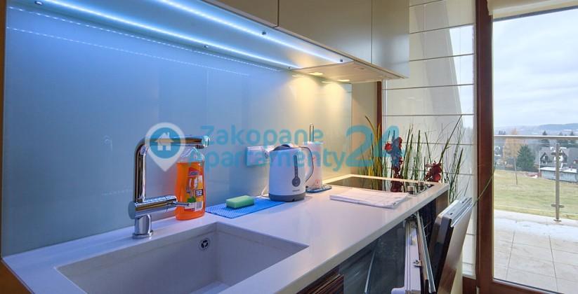 aneks kuchenny w apartamencie Szymoszkowa 1