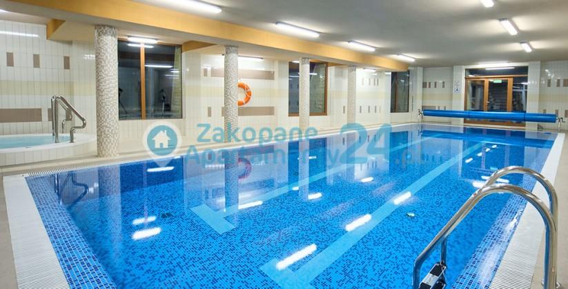 basen w SPA Szymoszkowa 1 Zakopane