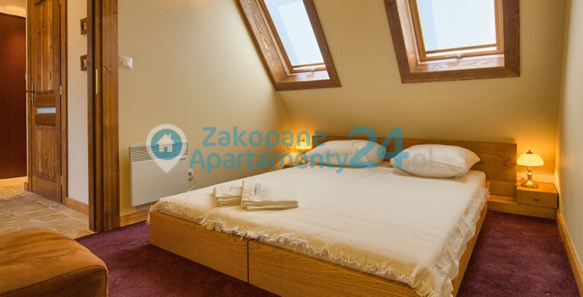 apartament - sypialnia dla dwojga