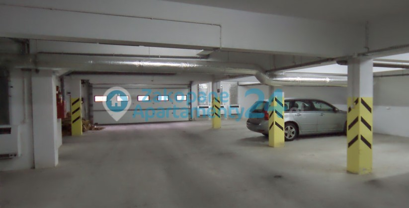 garaż podziemny w apartamencie Szymoszkowa SPA
