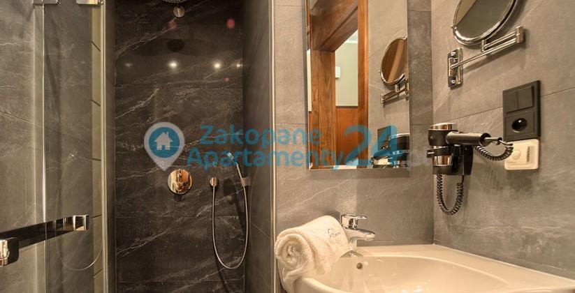 apartament w szymoszkowej łazienka nowoczesna